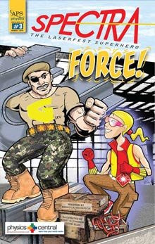 Spectra 3: Spectra's Force Comic Book