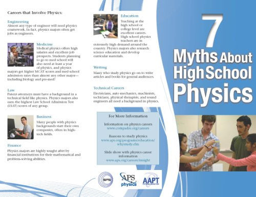 7 Myths of High School Physics Brochure (English)