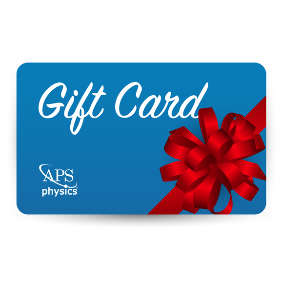 APS Physics Gift Card
