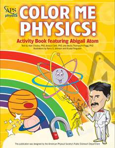 Color Me Physics Activity Book