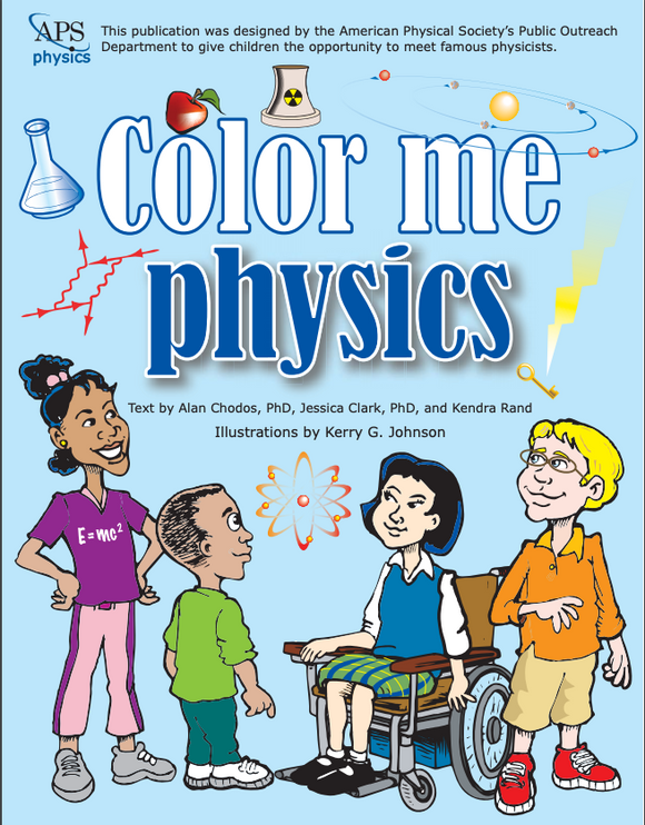 Color Me Physics Coloring Book