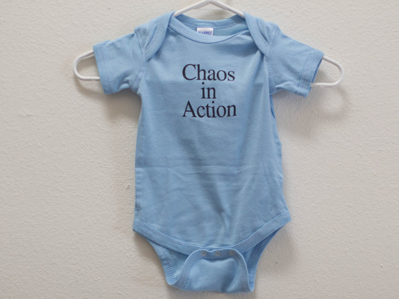 Chaos In Action Onesie