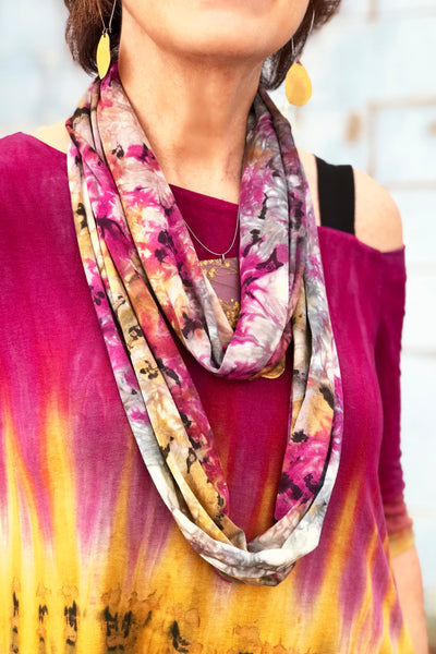Aliyah Scarf in Spicy Curry