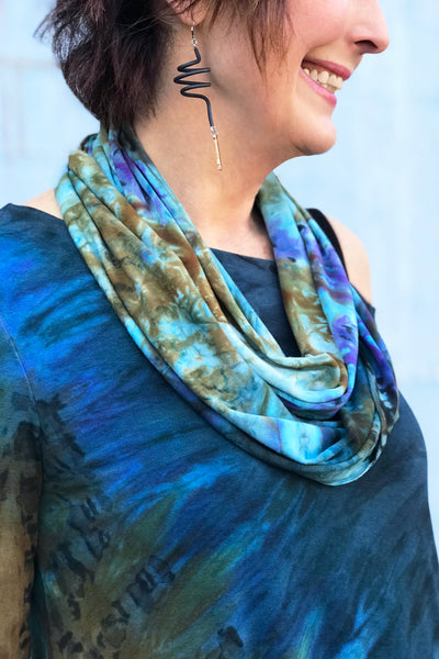 Aliyah Scarf in Pacific Rim