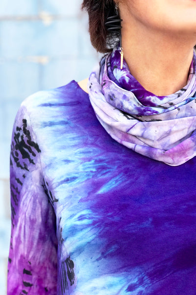 Aliyah Scarf in Sugar Plum
