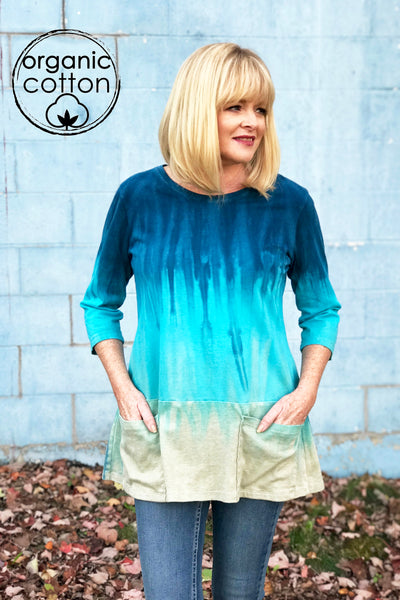 Astrid Top in Seashore