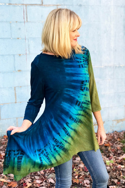 Brandy Tunic in Deep Loch