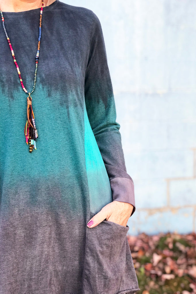 Dahlia Tunic in I'm Not Jaded