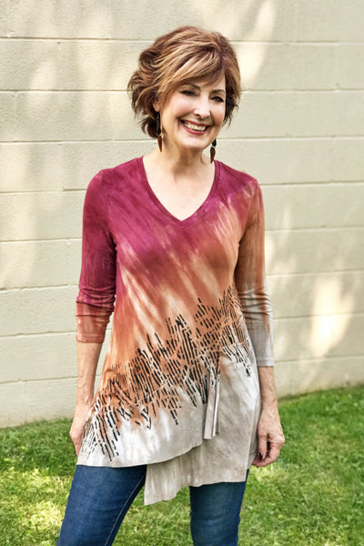 Isabelle Tunic in Spicy Mochachino