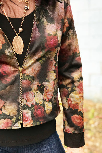Rose Jacket in Golden Bloom