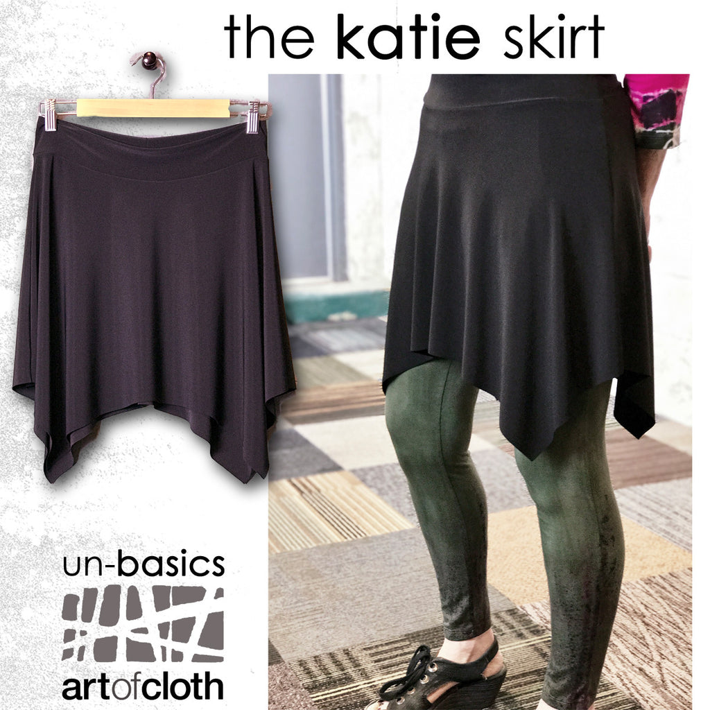 Katie Skirt in Black