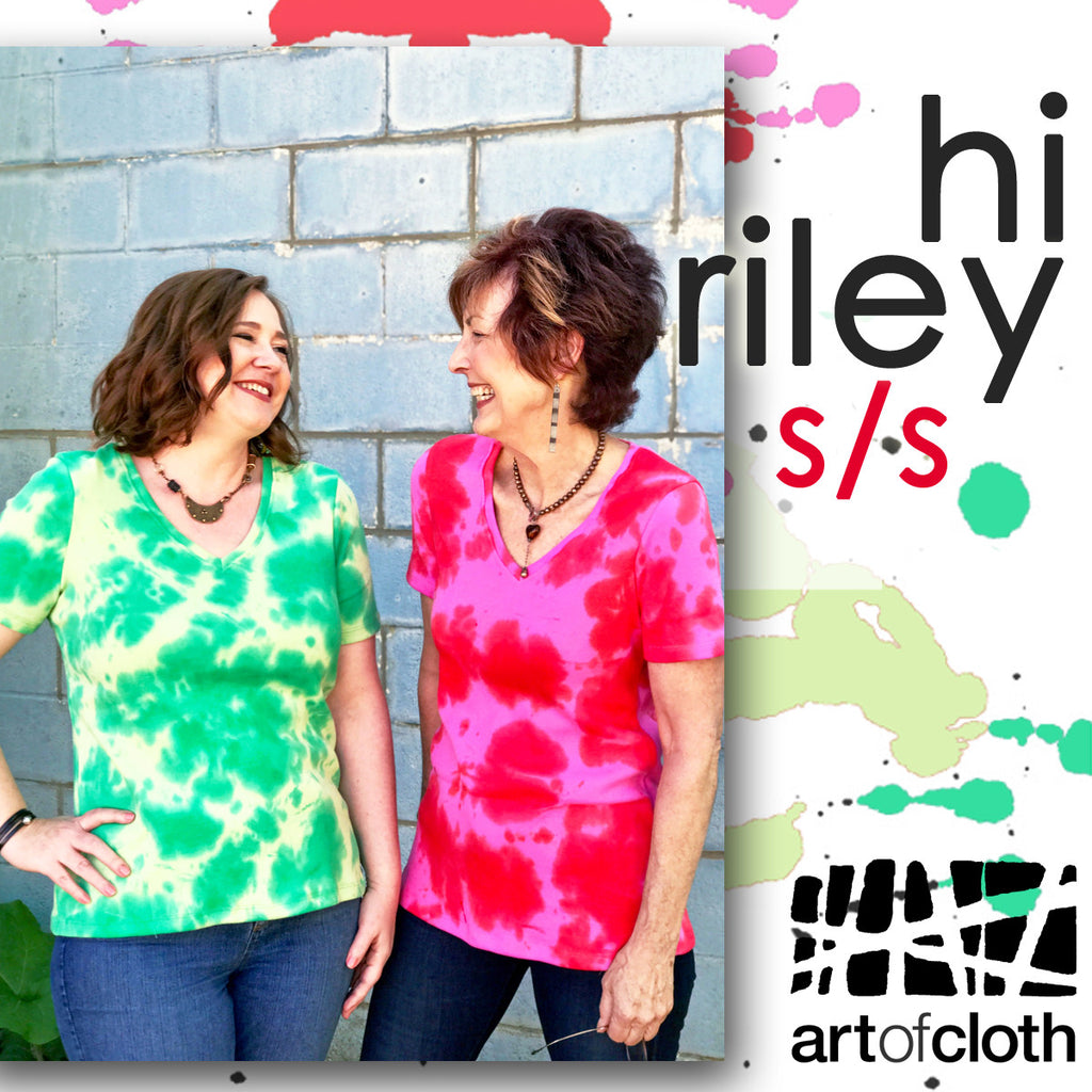 Riley Short Sleeve Tee in Margarita