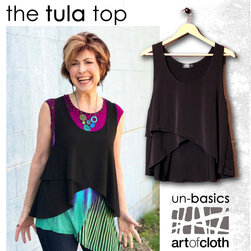 Tula Top in Black