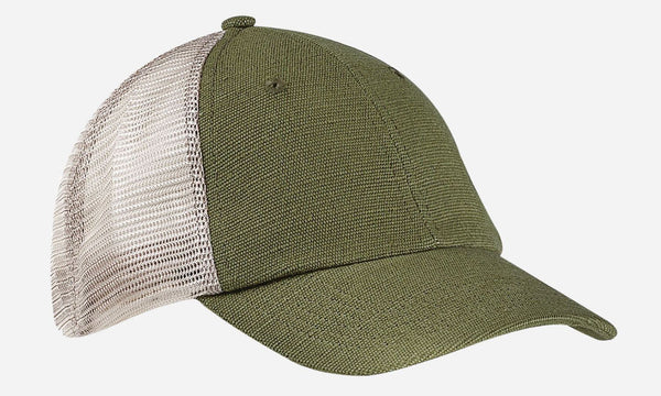 Hemp Washed Soft Mesh Trucker, EC7095 - econscious