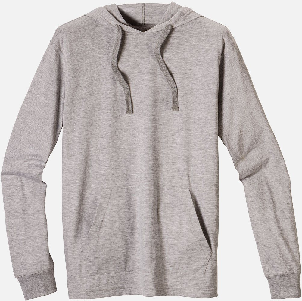 SALE: Eco Jersey Pullover, EC1085 - Athletic Gray - econscious