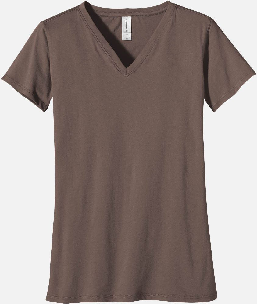 Women's V-Neck Tee -  METEORITE ONLY on Sale, EC3052 - econscious