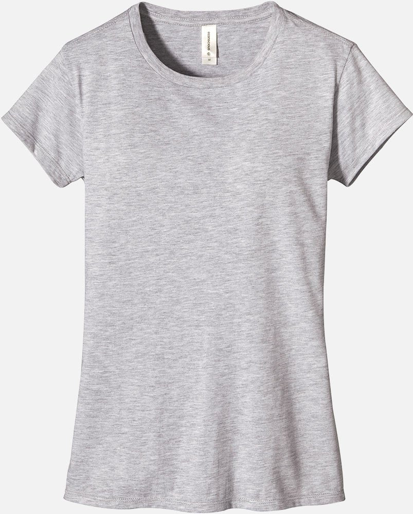 SALE: Eco Blended T-Shirt, EC3800 - Athletic Gray, Military Green and Berry - econscious