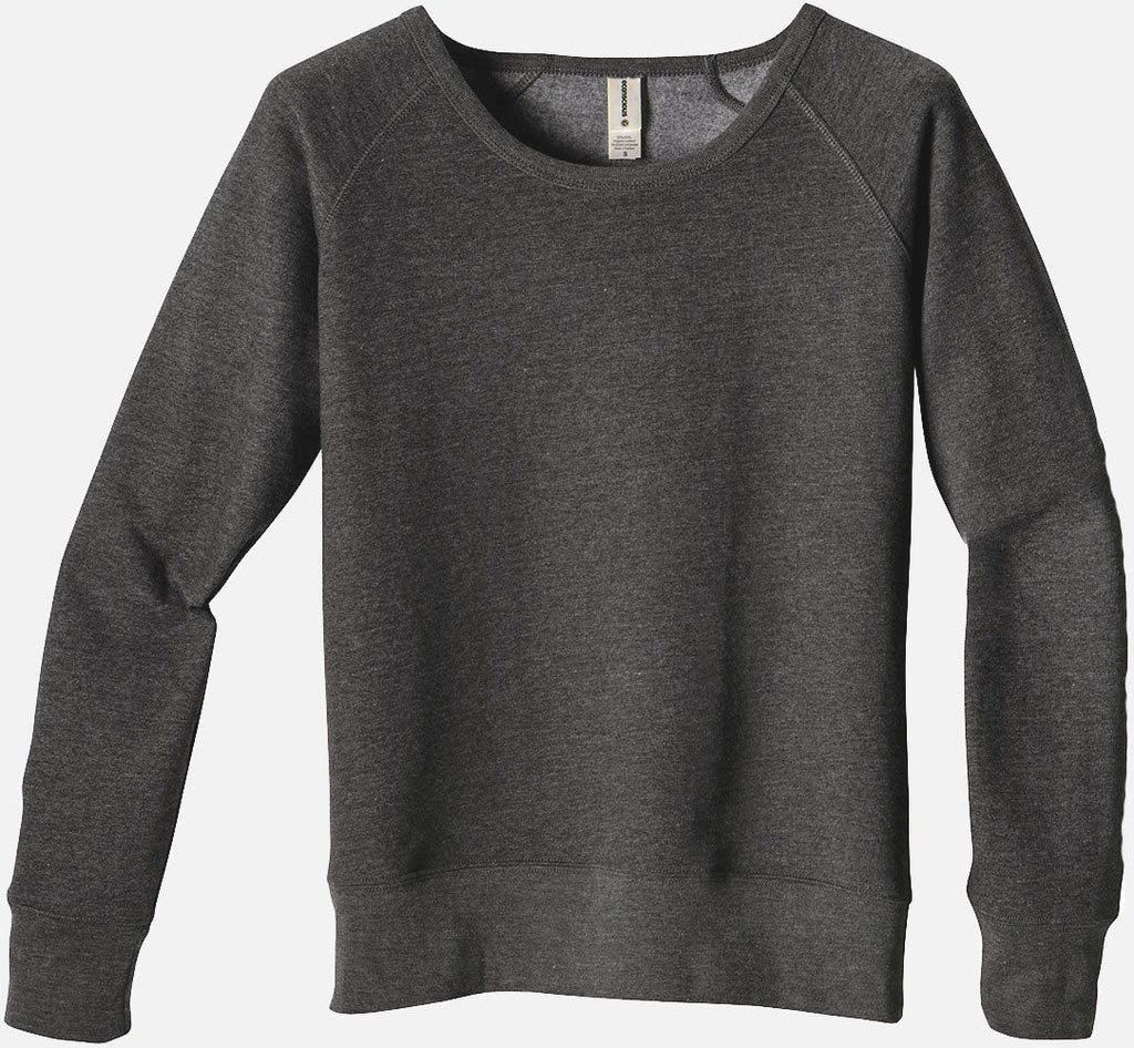 Heathered Fleece Raglan, EC4505 - econscious