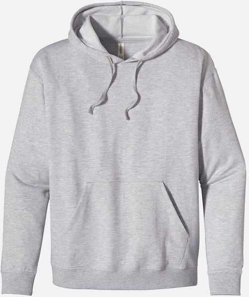 Heathered Fleece Pullover Hoody, EC5570 - econscious