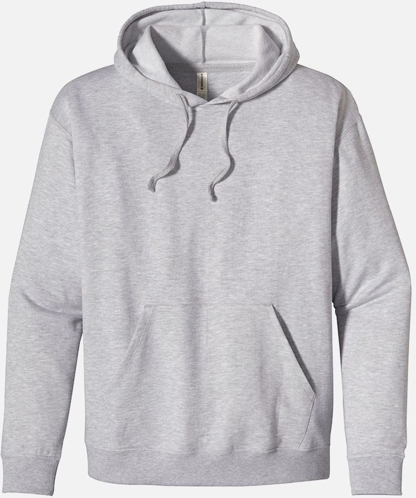 SALE: Heathered Fleece Pullover Hoody, EC5570 - Athletic Gray - econscious