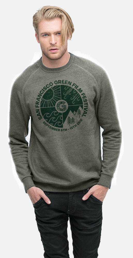 Limited Edition SF Green Film Festival Fleece - 15% of all sales goes directly to our non-profit partner! - econscious