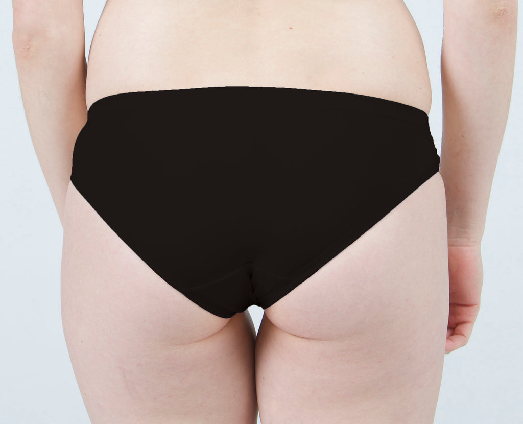 Samantha Bikini Panty in Black Nyx