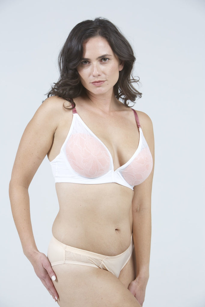 Samantha T-Shirt Bra in Dream White