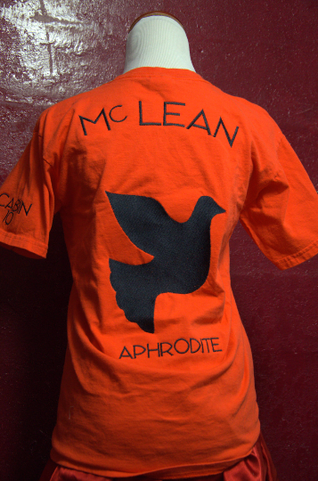 Camp Half-Blood Shirt, Uni-Sex Adult T-Shirt, Piper Mc Lean Aphrodite Cabin