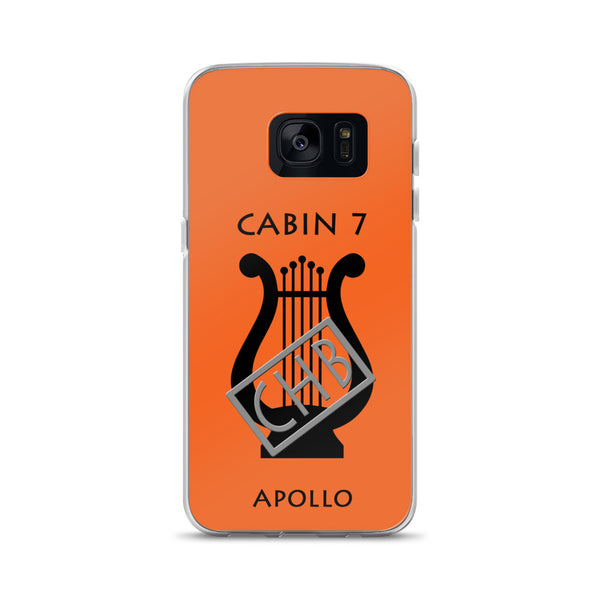 Camp Half-Blood Inspired Percy Jackson Cabin 7 Apollo Samsung Case