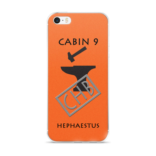 Camp Half-Blood Inspired Percy Jackson Cabin 9 Hephaestus iPhone Case