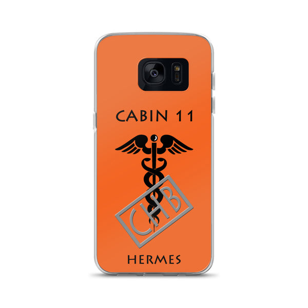 Camp Half-Blood Inspired Percy Jackson Cabin 11 Hermes Samsung Case