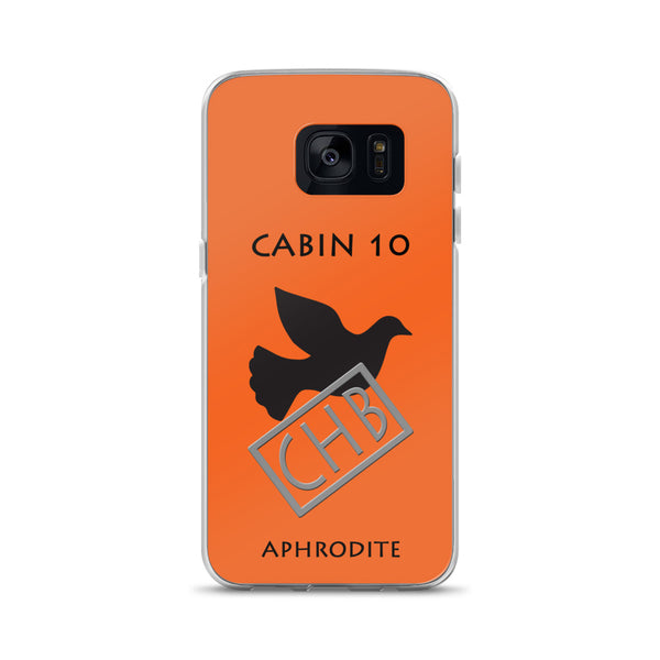 Camp Half-Blood Inspired Percy Jackson Cabin 10 Aphrodite Samsung Case