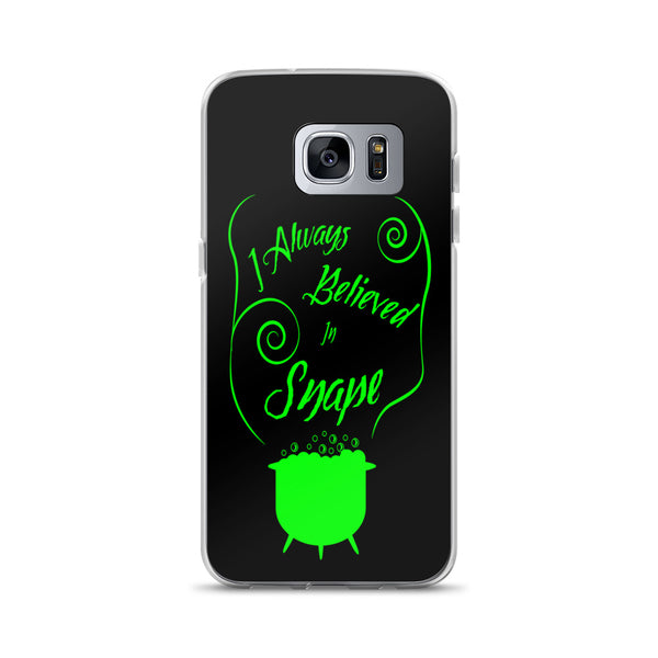 """Support Snape"" Harry Potter Inspired Slytherin, Severus Snape Samsung Case"