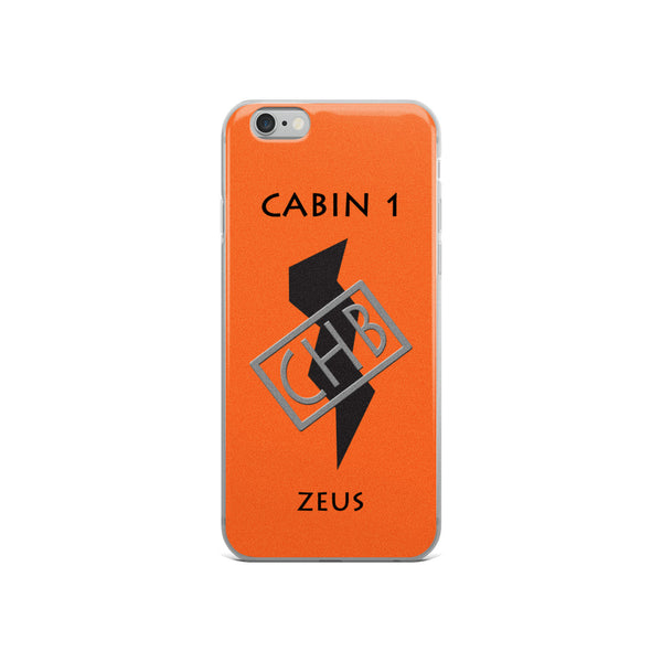 Camp Half-Blood Inspired Percy Jackson Cabin 1 Zeus iPhone Case