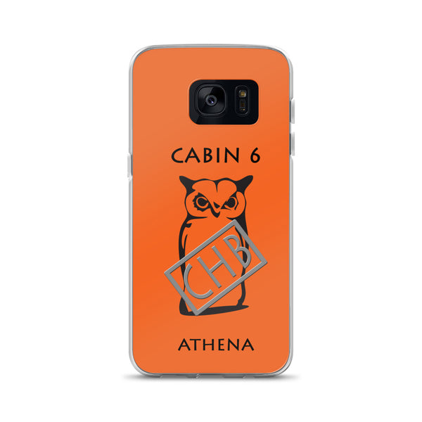 Camp Half-Blood Inspired Percy Jackson Cabin 6 Athena Samsung Case