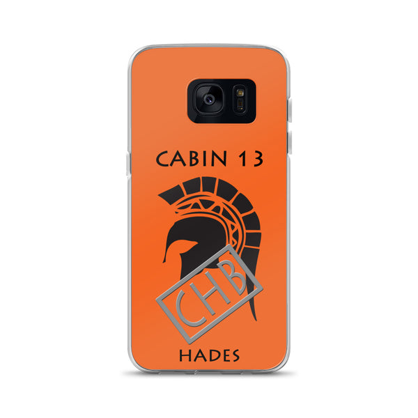 Camp Half-Blood Inspired Percy Jackson Cabin 13 Hades Samsung Case