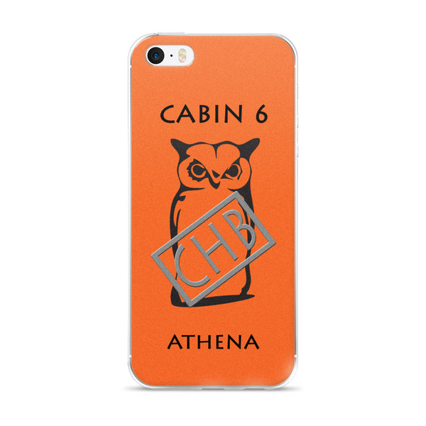 Camp Half-Blood Inspired Percy Jackson Cabin 6 Athena iPhone Case