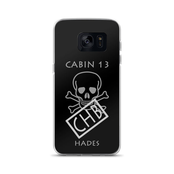 Camp Half-Blood Inspired Nico di Angelo Samsung Case
