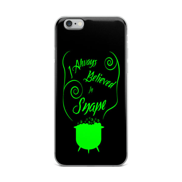 """Support Snape"" Harry Potter Inspired Slytherin, Severus Snape iPhone Case"