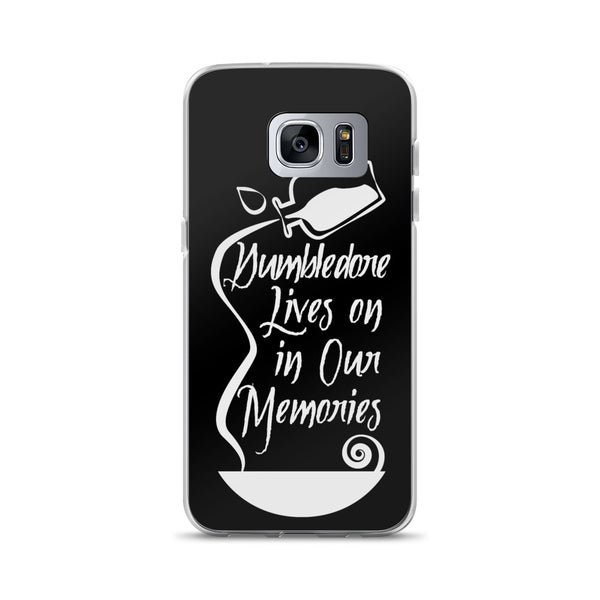 """Dumbledore Memories"" Harry Potter Inspired Hogwarts, Albus Dumbledore Samsung Case"