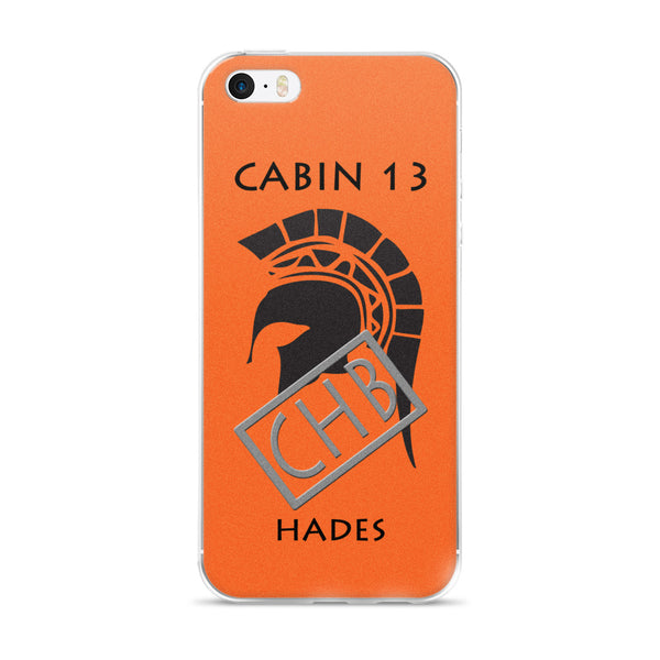 Camp Half-Blood Inspired Percy Jackson Cabin 13 Hades iPhone Case