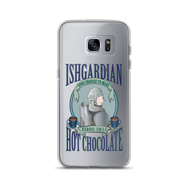 """Hot Chocolate Haurchefant"" Final Fantasy XIV Inspired Samsung Case"