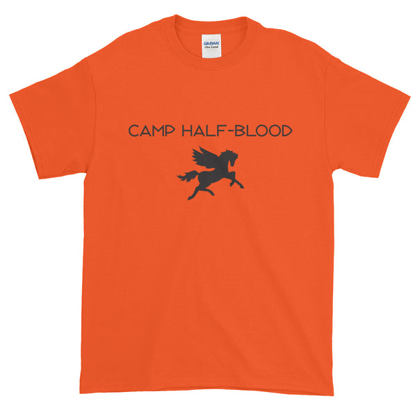 Screen Print Camp Half-Blood Cosplay Short-Sleeve T-Shirt
