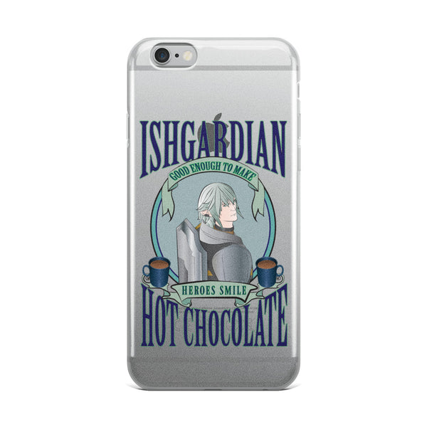 """Hot Chocolate Haurchefant"" Final Fantasy XIV Inspired iPhone Case"