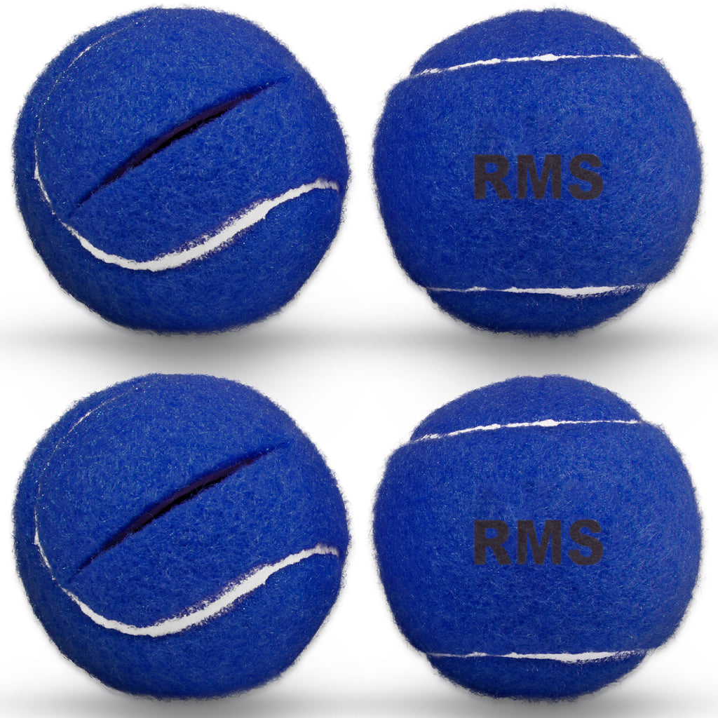 RMS - Blue Walker Glide Balls (4 pack)