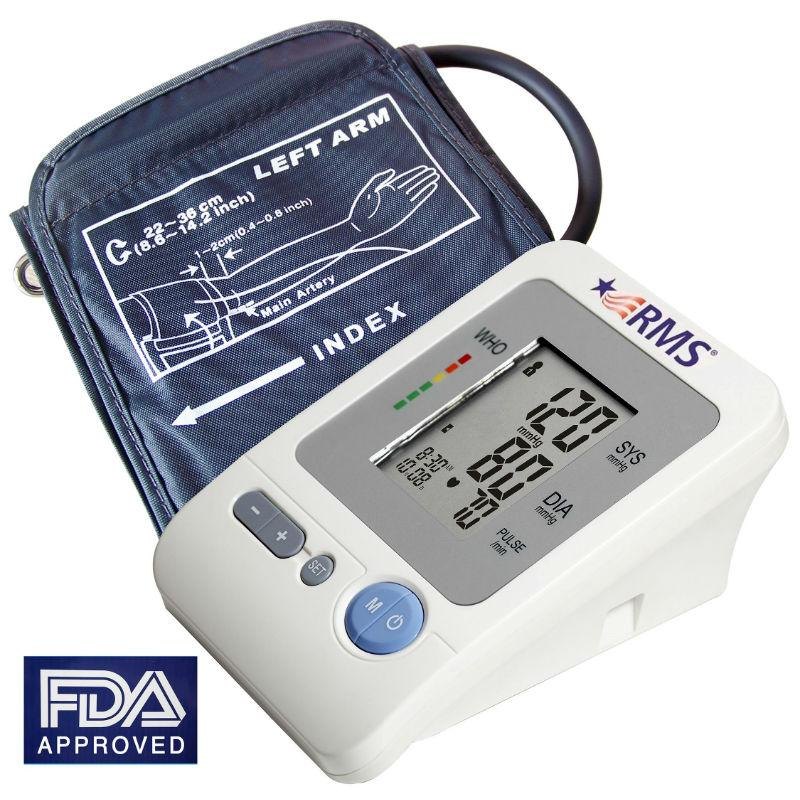 RMS - Digital Automatic Arm Blood Pressure Monitor