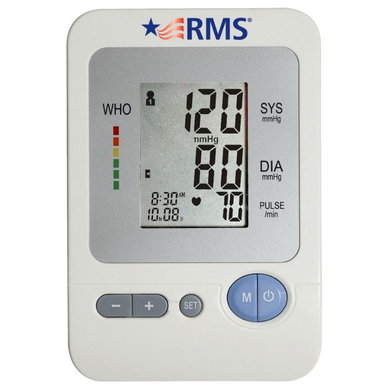 RMS Health - Digital Automatic Arm Blood Pressure Monitor