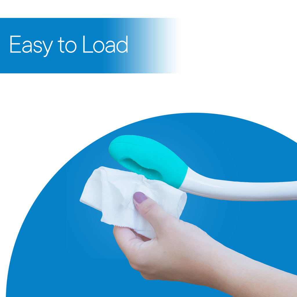 RMS Long Reach Comfort Wipe - Self Assist Toilet Aid, Ideal Daily Living Bathroom Aid for Limited Mobility