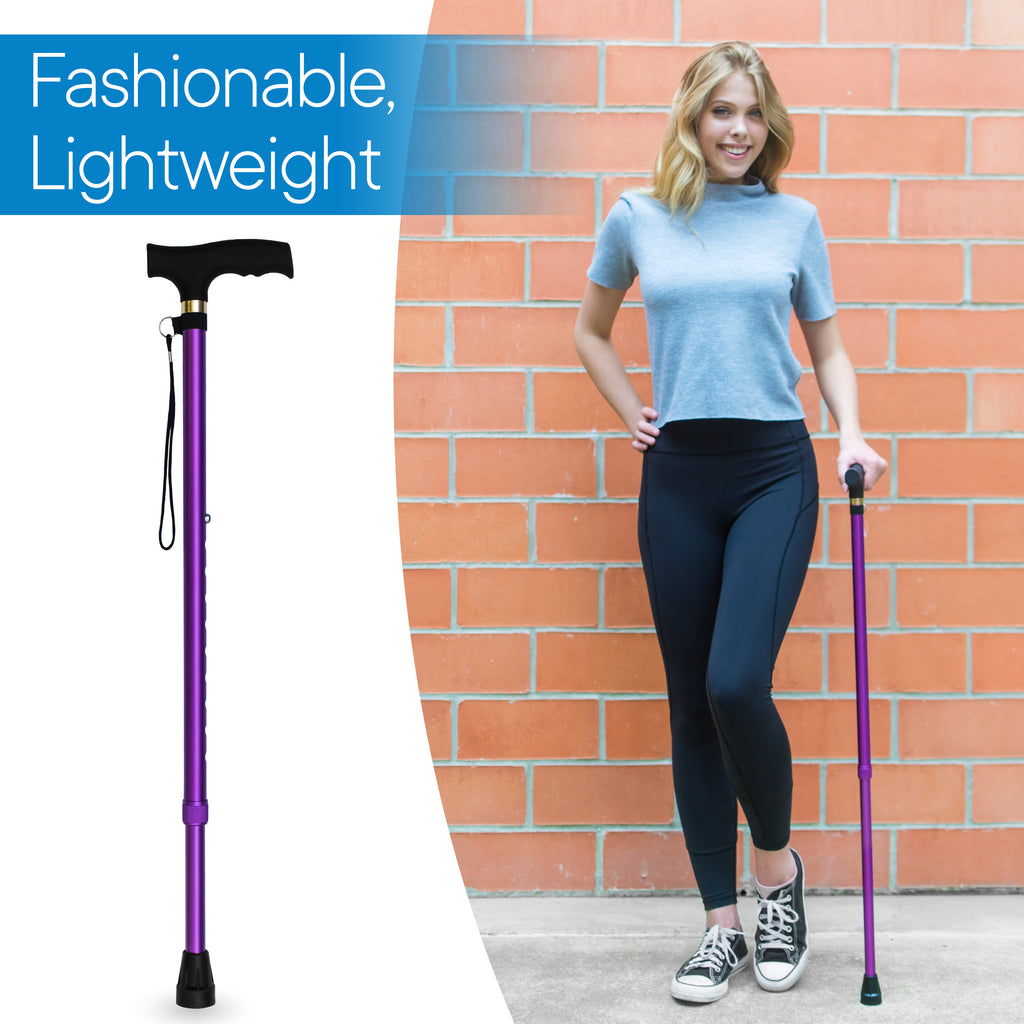 RMS - Lavender Adjustable Walking Cane