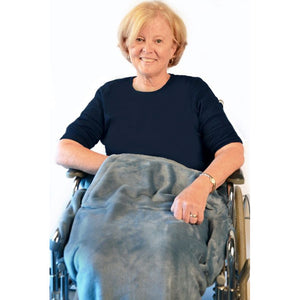 Lightweight Wheelchair Fleece Blanket